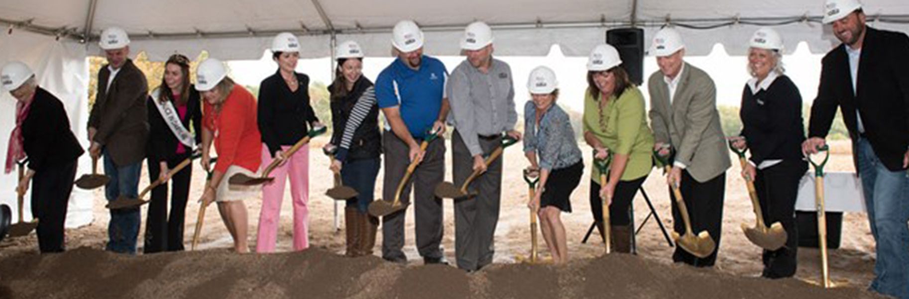 Groundbreaking for the Wisconsin Agricultural Education Center