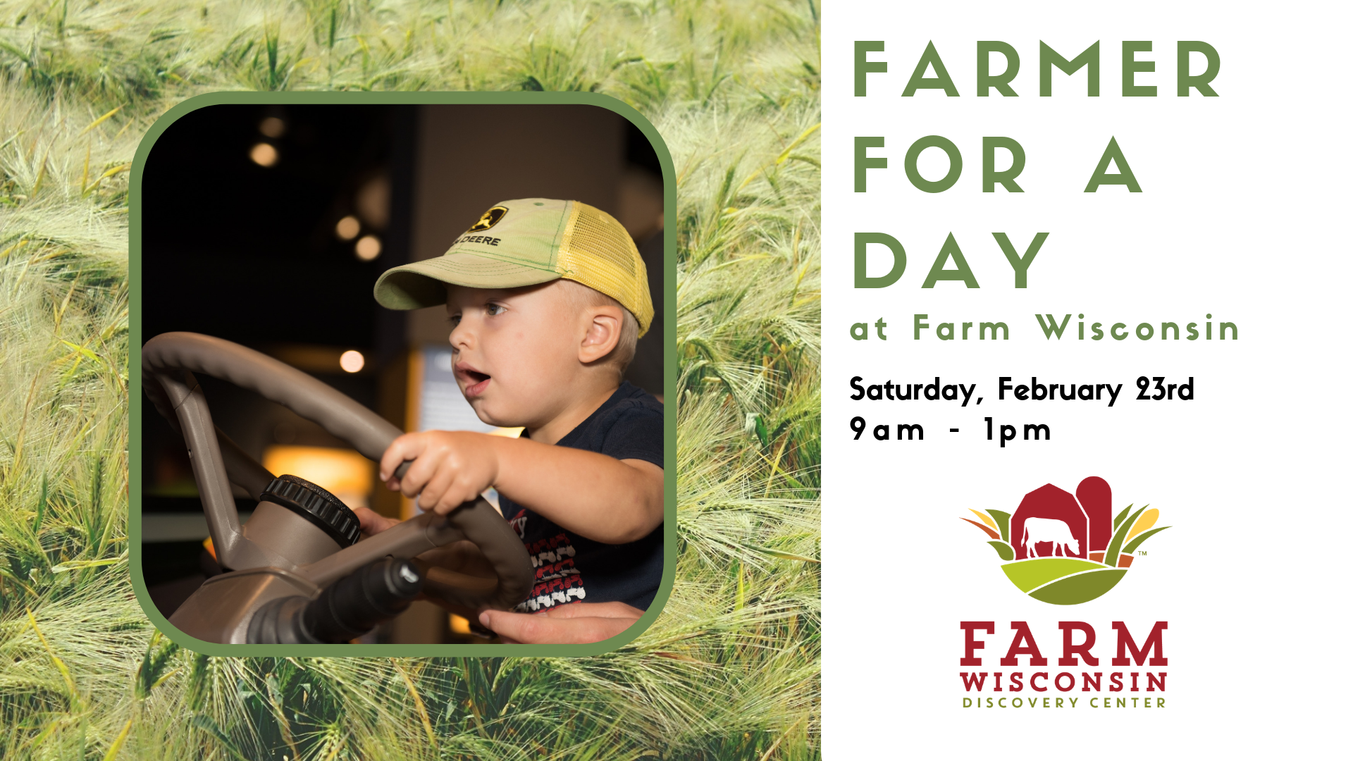 Farmer for a Day at Farm Wisconsin