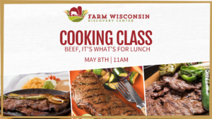 Beef, It's What's for Lunch - Cooking Class May 8th