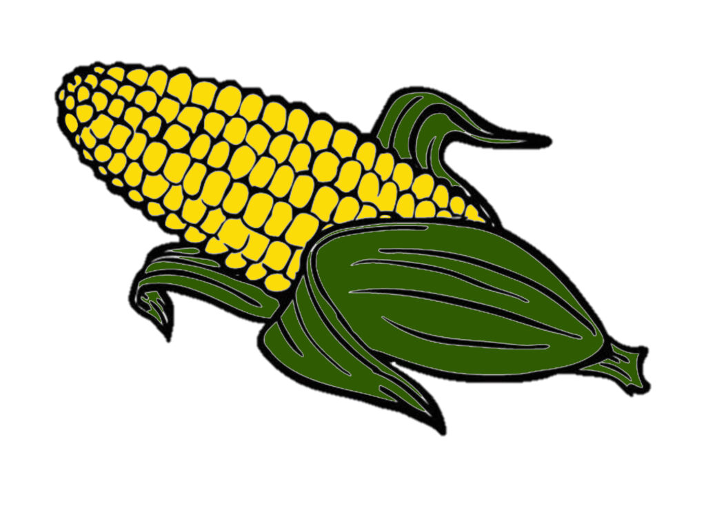 Coloring Page: Corn